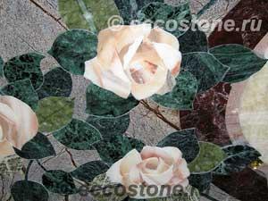 мозаика панно натуральный камень